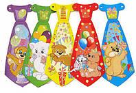 Набор аксессуаров для детского праздника Фолдер галстуки 5 шт 691854