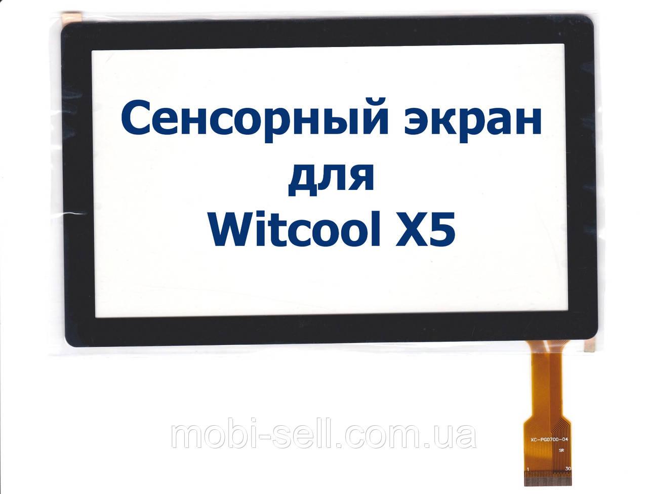 Сенсорный экран (тачскрин, сенсор) для Witcool X5