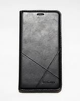 Чехол-книжка для смартфона Xiaomi Redmi Note 4x чёрная MKA