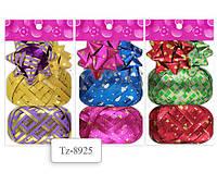 Набор для декорирования подарков Tukzar 2 банта + 2 ленты (5мм*10м) Tz-8919/8925/8907/8913