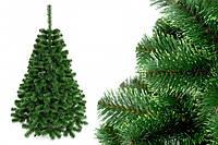 """Елка """"Польско-канадская зеленая"""" на пластиковой подставке + гирлянда в подарок 250 см + гирлянда в подарок"""