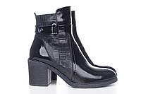 Ботинки женские деми кожаные, из натуральной кожи, натуральная кожа, демисезонные
