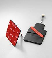 Приемник-подставка microUSB беспроводной зарядки QI авто выравнивание магнитом Android