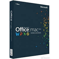 ПО Microsoft Office Mac Home Business 2011 (W6F-00211)