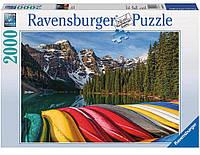 """Пазл """"Горные каноэ"""" 2000 шт. Ravensburger (RSV-166473)"""