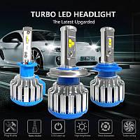 Автомобильные лампы LED Cnsunnylight H4 7000LM 6000K, фото 1