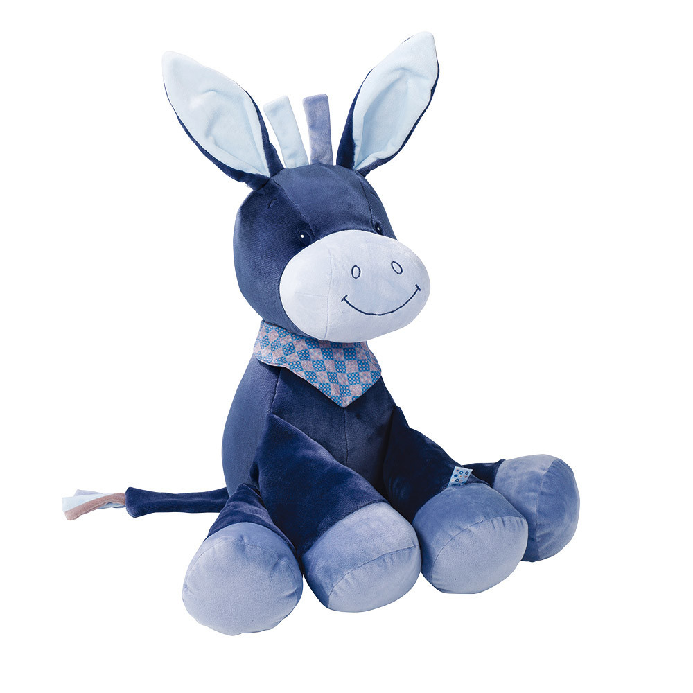 Nattou - Мягкая игрушка ослик Алекс, 75 см