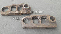 Звено левое 2222 гусеницы трактора С100 Сталинец С 80,С 80Б-2, фото 1