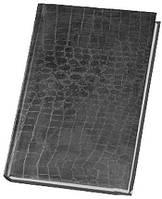 Ежедневник А6 Economix недатированный Croco серый матовый E21728-10