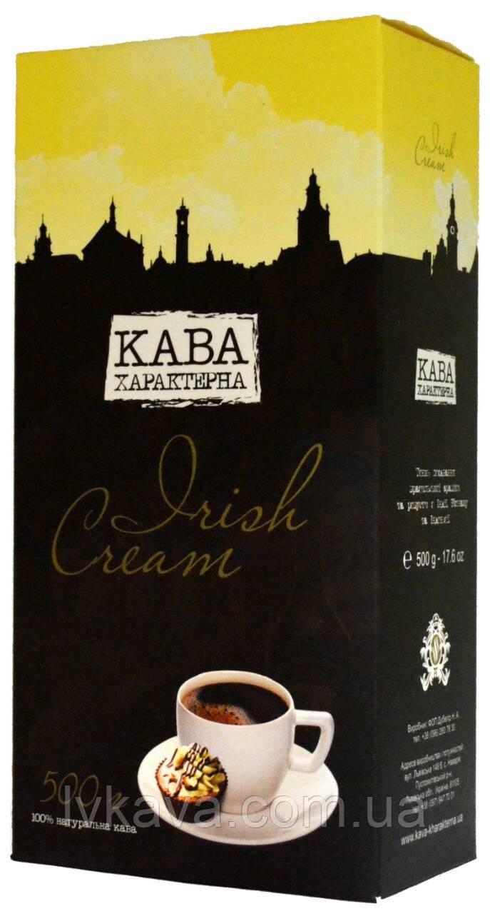 Кофе молотый Кава Характерна Irish Cream ,500г