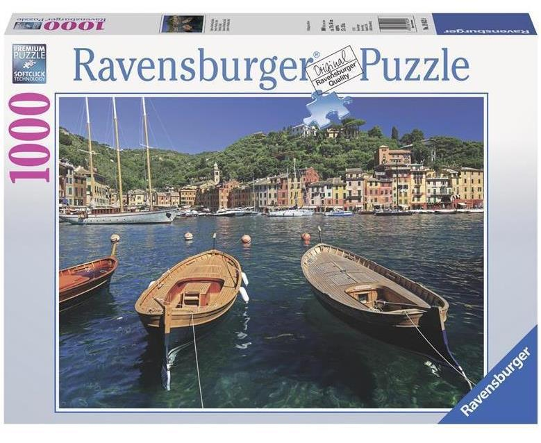 "Пазл ""Гавань в Портофіно, Італія"" 1000 шт. Ravensburger (RSV-190539)"