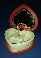 Музыкальная шкатулка для украшений с зеркальцем Hello Kitty 045