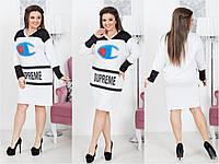 """Платье """"SUPEREME"""", стильное молодежное женское платье., фото 1"""