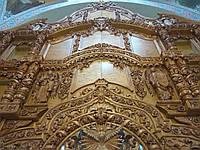 Иконостас натуральное дерево,Барокко,лакированный, фото 1