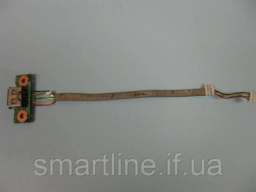 USB роз'єм для ноутбука Toshiba Satellite Pro L300D, 6050A2175201-USB/