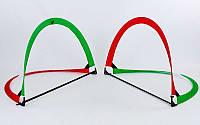 Складные футбольные ворота для тренировок (2шт) (пластик, сетка, PVC чехол, р-р 113x83x83см)