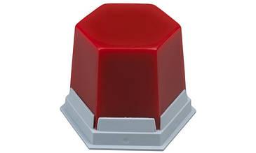 Воск GEO Classic пришеечный и базовый воск, красный прозрачный, 75г Renfert (Ренферт)