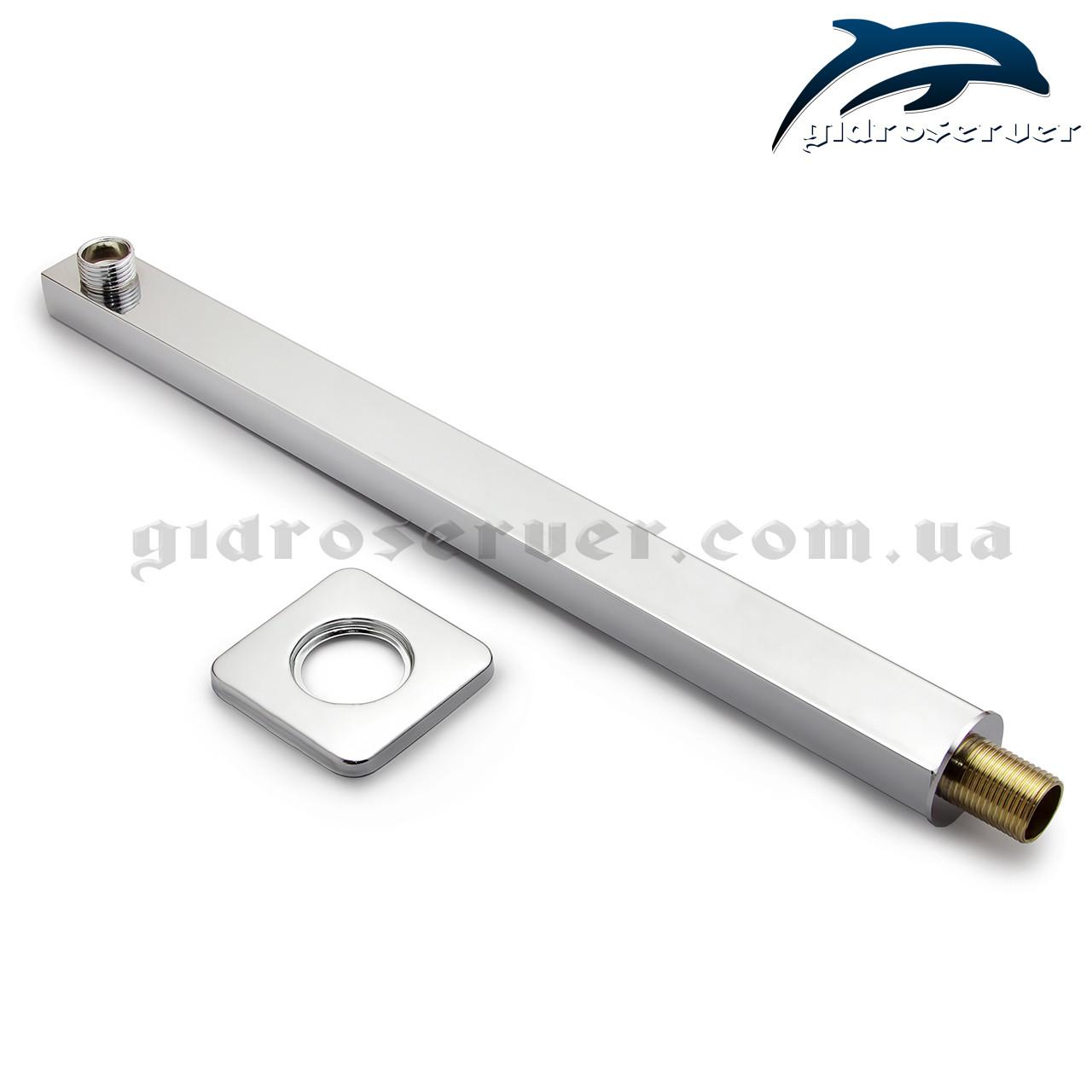 Кронштейн для верхнього душу DS-01.40 з нержавіючої сталі.