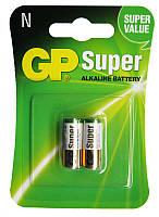 Батарейка GP 1шт 910A-2UE2 щелочная LR1, AM5,N для фото