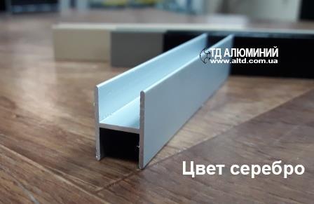 Профиль системы шкафа купе   Разделительный профиль 03