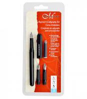Набор для каллиграфии Manuscript Beginner's Calligraphy Set (авторучка, 3 пера, конвертер) MC1235