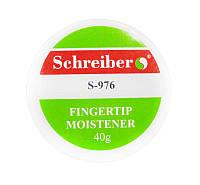 Увлажнитель подушечка для смачивания пальцев Schreiber гелевая 40гр. S-976