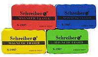 Губка для сухостираемых досок Schreiber магнитная S-1907