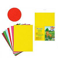 Бумага цветная А4 7 л. Tukzar бархатная Tz-10103