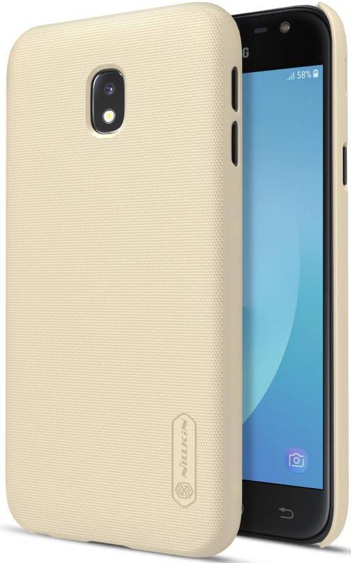 Чохол для телефону NILLKIN Samsung J3 (2017) / J330 - Frosted Shield (Gold) 6359585