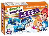 Игра научная Creative 0315 Большой набор, Свет, воздух, вода, акустика, Фиксики 12187008Р