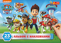 Набор для творчества Creative 4510-30 Наклейки с альбомом, Щенячий патруль 13179025Р