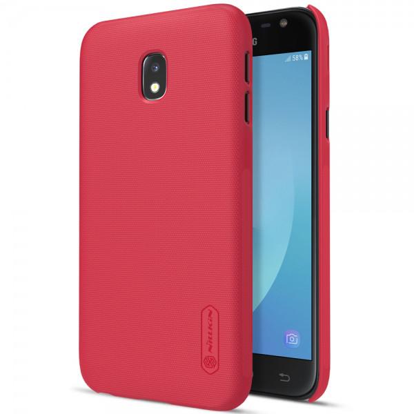 Чохол для телефону NILLKIN Samsung J7 (2017) / J730 - Frosted Shield (Red)