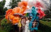 Переваги та поради до використання кольорового диму