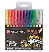 Ручка гелевая Sakura набор 12 шт. Moonlight POXPGBMOO12