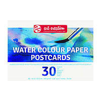 Бумага-склейка для акварели Royal Talens Van Gogh А6 (10,5*14,8см) 200г/м 30л. 9317009M
