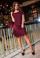 Красивое  платье  Melanya с паетками на подкладке (6 цветов ) 141 (549)