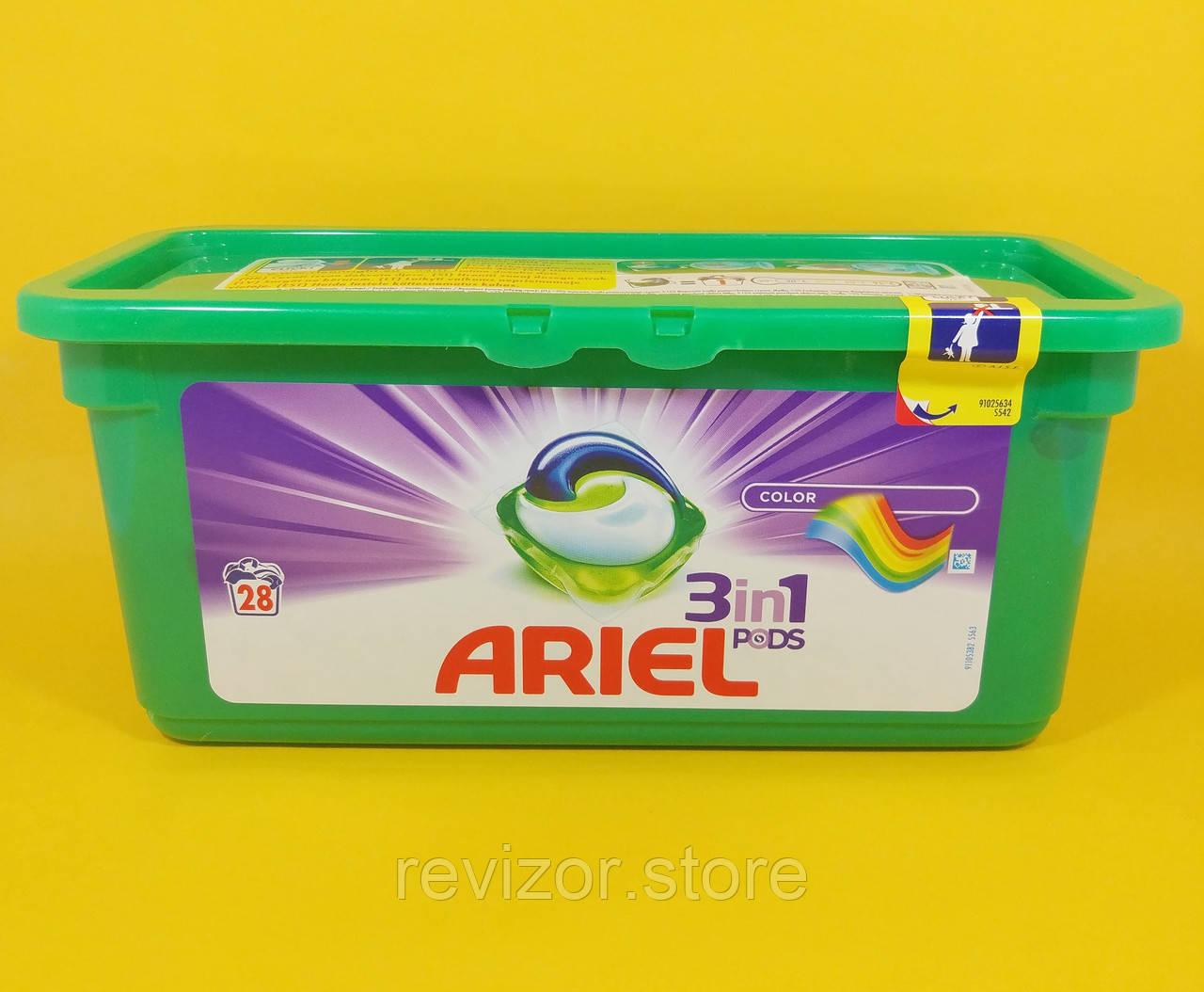 Ariel - Капсулы для стирки Color 28шт, фото 1