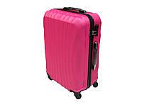 Яркий пластиковый чемодан большого размера Wings 576