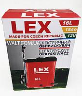 Акумуляторный опрыскиватель lex 16 L.Опрыскиватель