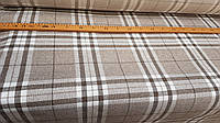Рогожка клетка3 обивочная ткань для мебели, фото 1