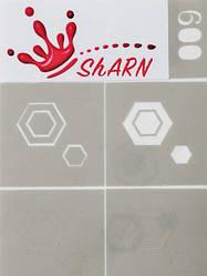 Трафареты для аэрографии Sharn №009