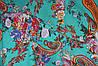 Ткань Лен турецкие огурцы