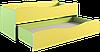 Кровать детская, 2-ярусная, выдвижная