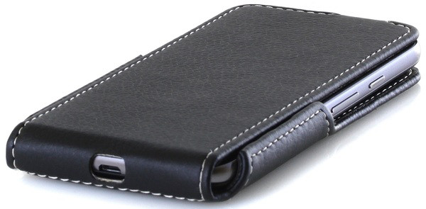 Чехол для телефона RED POINT ERGO A503 Optima - Flip case (Black) ФК.166.З.01.23.000
