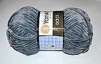 Пряжа YarnArt Dolce 760 серый