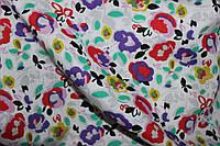 Ткань рубашка принт хб цветной принт