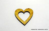 Сердце мини полое