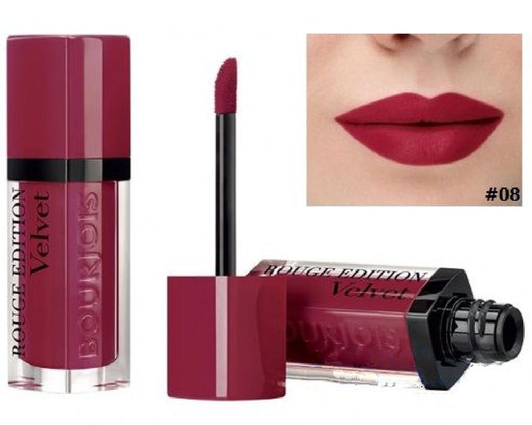 "Помада для губ ""Bourjois Rouge Edition Velvet Lipstick"" (7.7ml) 08, 09, 10, 12"