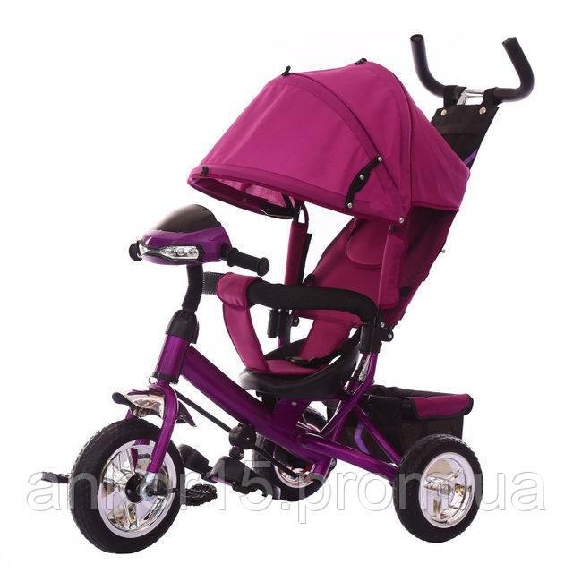 Велосипед триколісний TILLY TRIKE T-346, фіолетовий