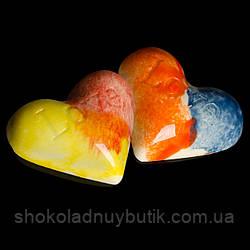"""Шоколадные конфеты ручной работы """"Сердце"""", 1 шт, 20 г."""